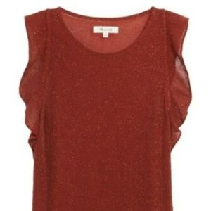 Madewell tank top sleeveless Brand new sz Large